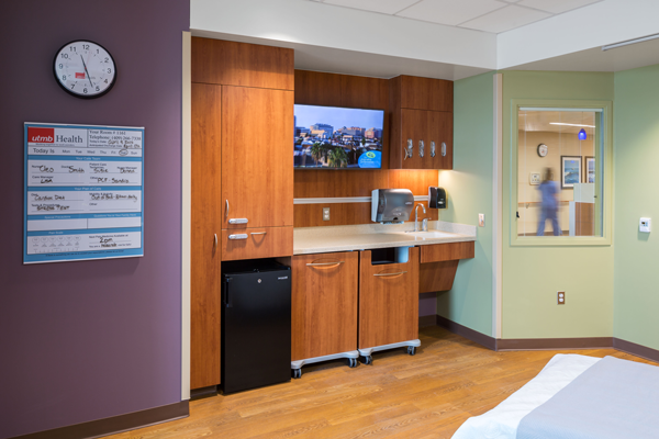 Jennie Sealy Patient Room